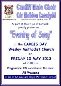 Cornwall Poster Methodist Church