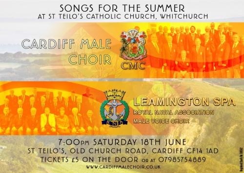 Summer Concert Poster 2016